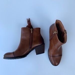 PIKOLINOS Shoes - Pikolinos Andorra brown leather booties